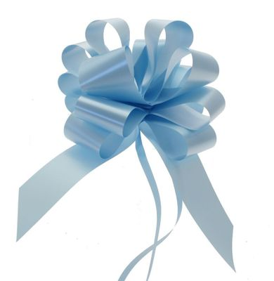 Light Blue Single Pull Bow
