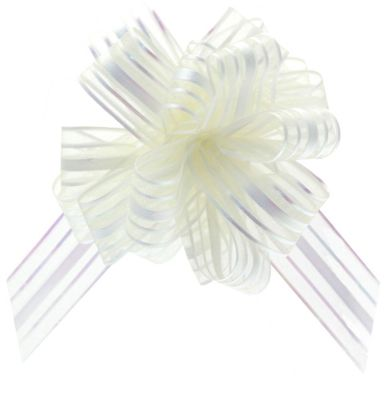 Ivory Organza Pull Bow (31mm)