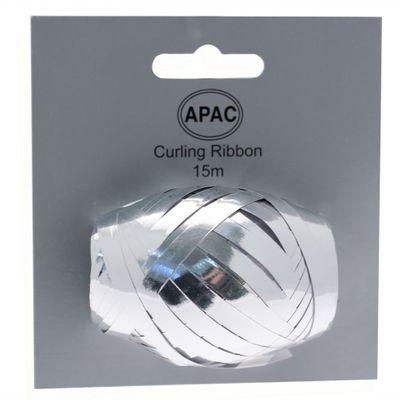 Metallic Silver Ribbon Cop