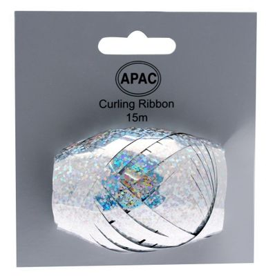 Holographic Silver Ribbon Cop