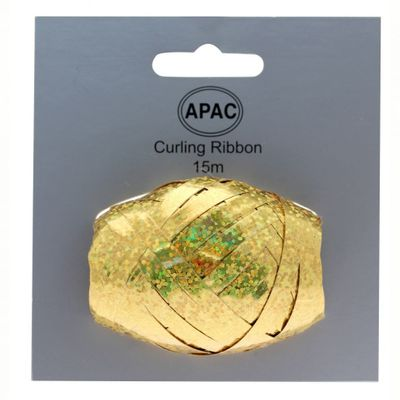 Holographic Gold Ribbon Cop