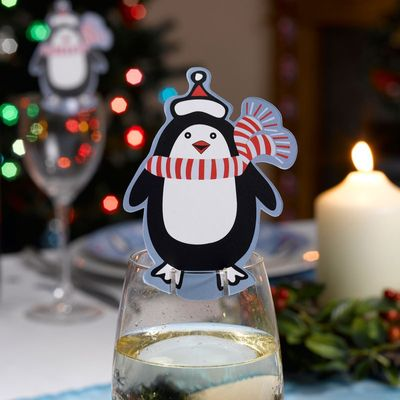 Party Penguin Cute Cup Decorations