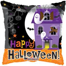 Halloween Haunted House Pillow Balloon