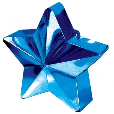 Blue Star Balloon Weight