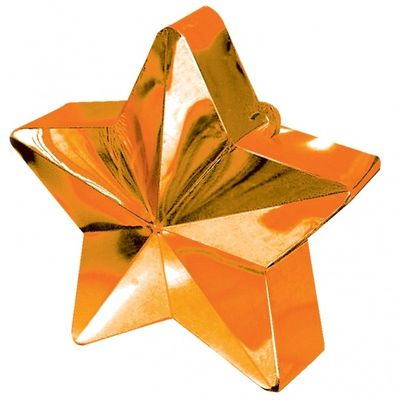 Orange Star Balloon Weight
