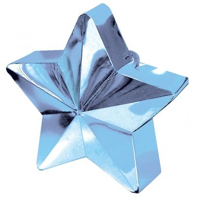 Light Blue Star Balloon Weight