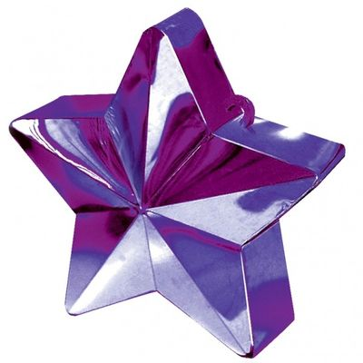 Purple Star Balloon Weight