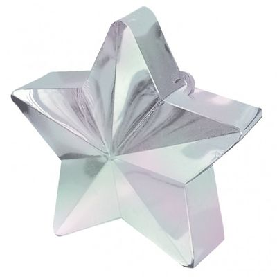 Iridescent Star Balloon Weight