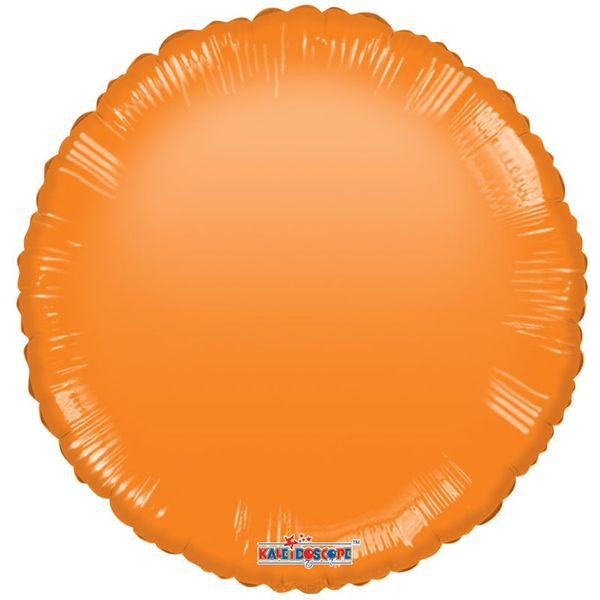 Orange Circle Gellibean Balloon