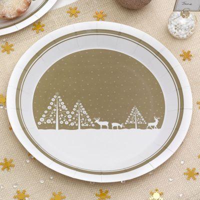 Winter Wonderland Plates