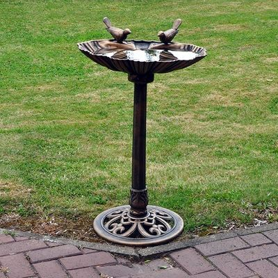 Kingfisher Bronze Effect Bird Bath