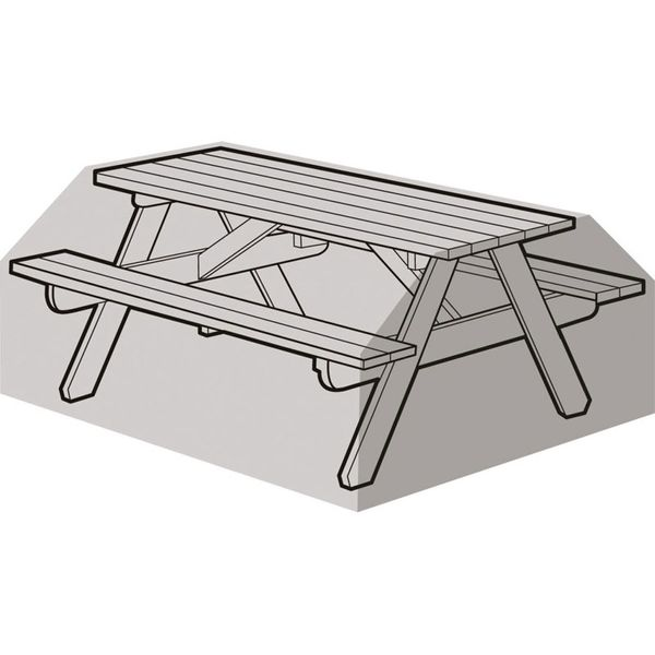 Garland 8 Seater Picnic Table Cover - Cover over bench
