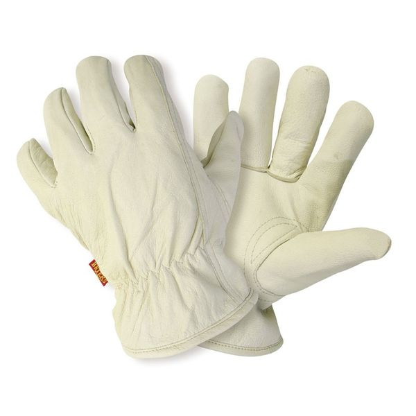 Briers Lined Hide Washable Gloves - Large