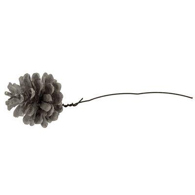 Silver Cone on Wire