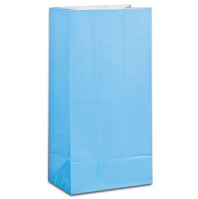 Blue Paper Party Bag