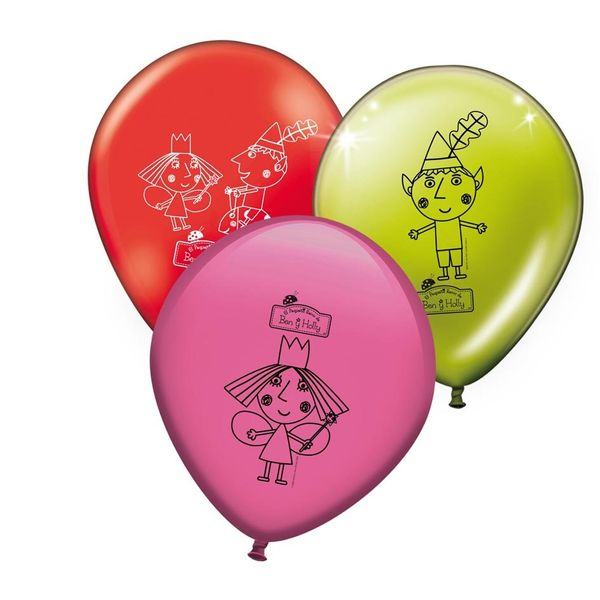 Ben and Hollys Little Kingdom party balloons