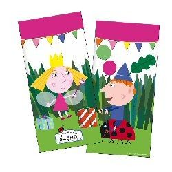 Ben and Hollys Little Kingdom party loot bags