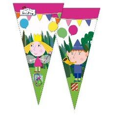 Ben and Hollys Little Kingdom party supplies cone cello bags