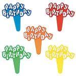 Happy Birthday Plastic Picks
