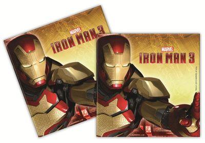 Iron Man 3 Party Napkins