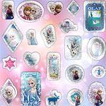 Disney Frozen Frozen Crystal Glitter Sticker Sheet