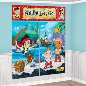 Disney Jake and Neverland Pirates Scene Setters