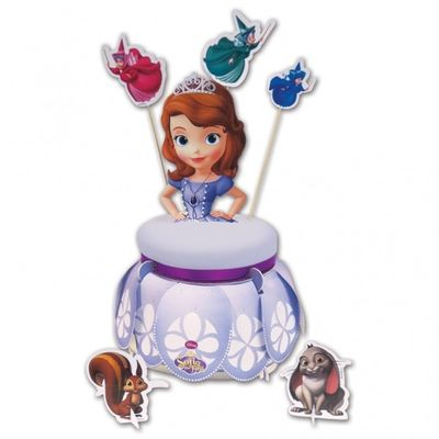 Disney Sofia The First Cake Stand and Kit