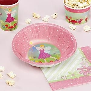 Fairy Princess Party Bowls - Special Price