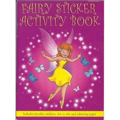 Fairy Princess Sticker Activity Book