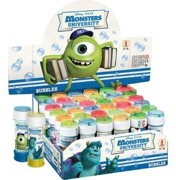 Monsters University Game Top Party Bubbles