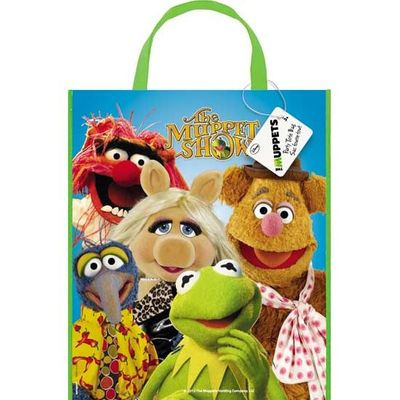 Muppets Party Large Party Bag - Gift Bag