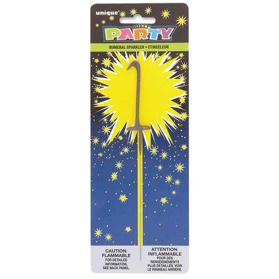 Number 1 Sparkler Candle