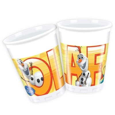 Olaf Summer Plastic Party Cups