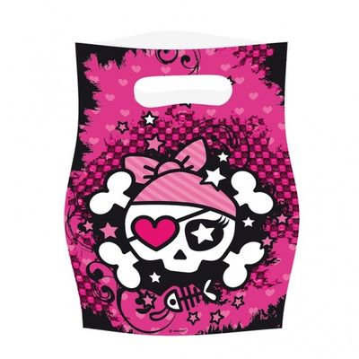 Pink Pirates Party Bags