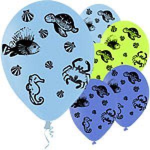 Latex Balloons Fun Sea Creatures Assortment