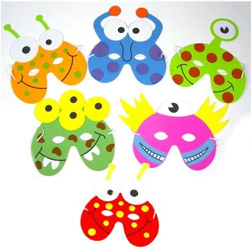 Monster Foam Party Masks - Special price