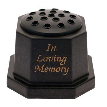 In Loving Memory Grave Vase
