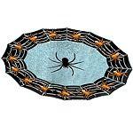 Sparkle Spider Plastic Round Platter