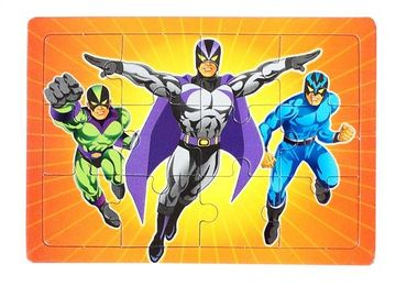 Super Hero Party Jigsaw - Special Price