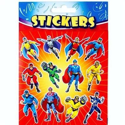 Super Hero Party Stickers - Back in stock