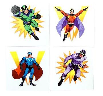 Super Hero Party Tattoos