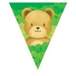Teddy Bears Picnic Flag Banner - Special Spring Price