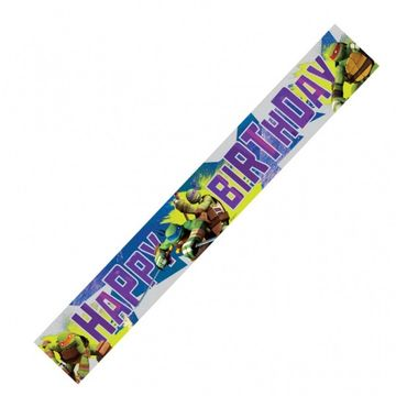 Teenage Mutant Ninja Turtles Party Foil Banner