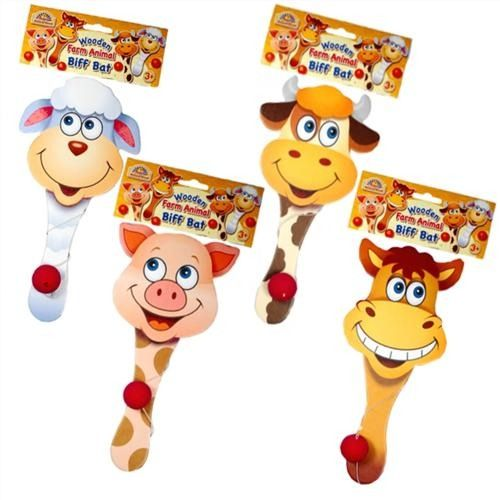 Wooden Farm Biff Bat - Special Reduced Price