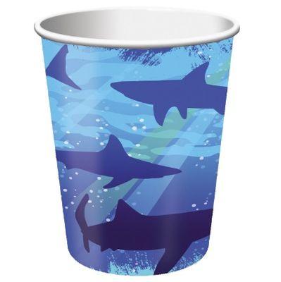 Shark Splash Party Cups