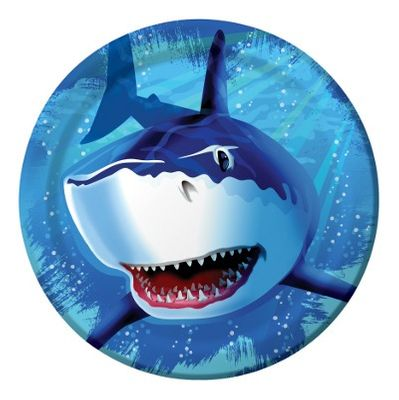 Shark Splash Party Plates