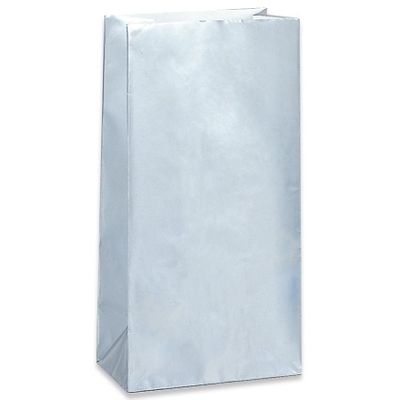 Silver Paper Party Bags