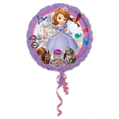 Sofia the First Party Foil Balloon