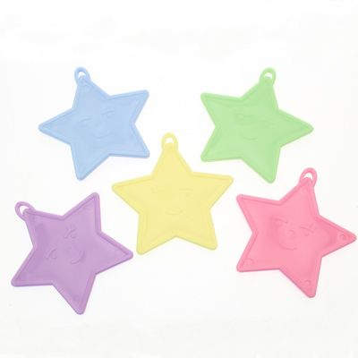 Pastel Star Shape Balloon Weights
