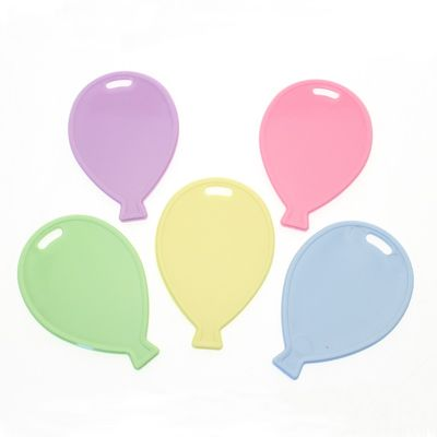 Pastel Balloon Shape Balloon Weights